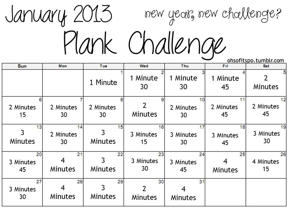 Plank Challenge Before And After Day plank challenge before after day plank challenge