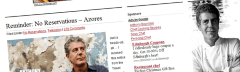 Read all about it! Snapshot from http://www.anthonybourdain.net/