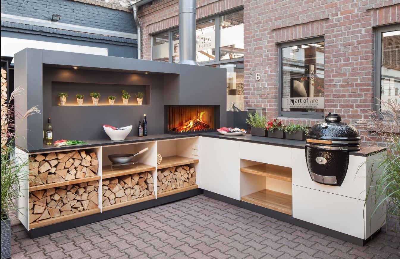 Outdoor Küche Kaufmann : Moderne outdoor küche luxus und elegante architektur die von der