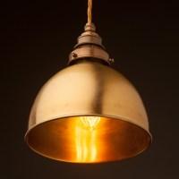 Brass Dome Light Shade Pendant