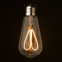 3 Watt Loop Filament LED E27 Clear Edison