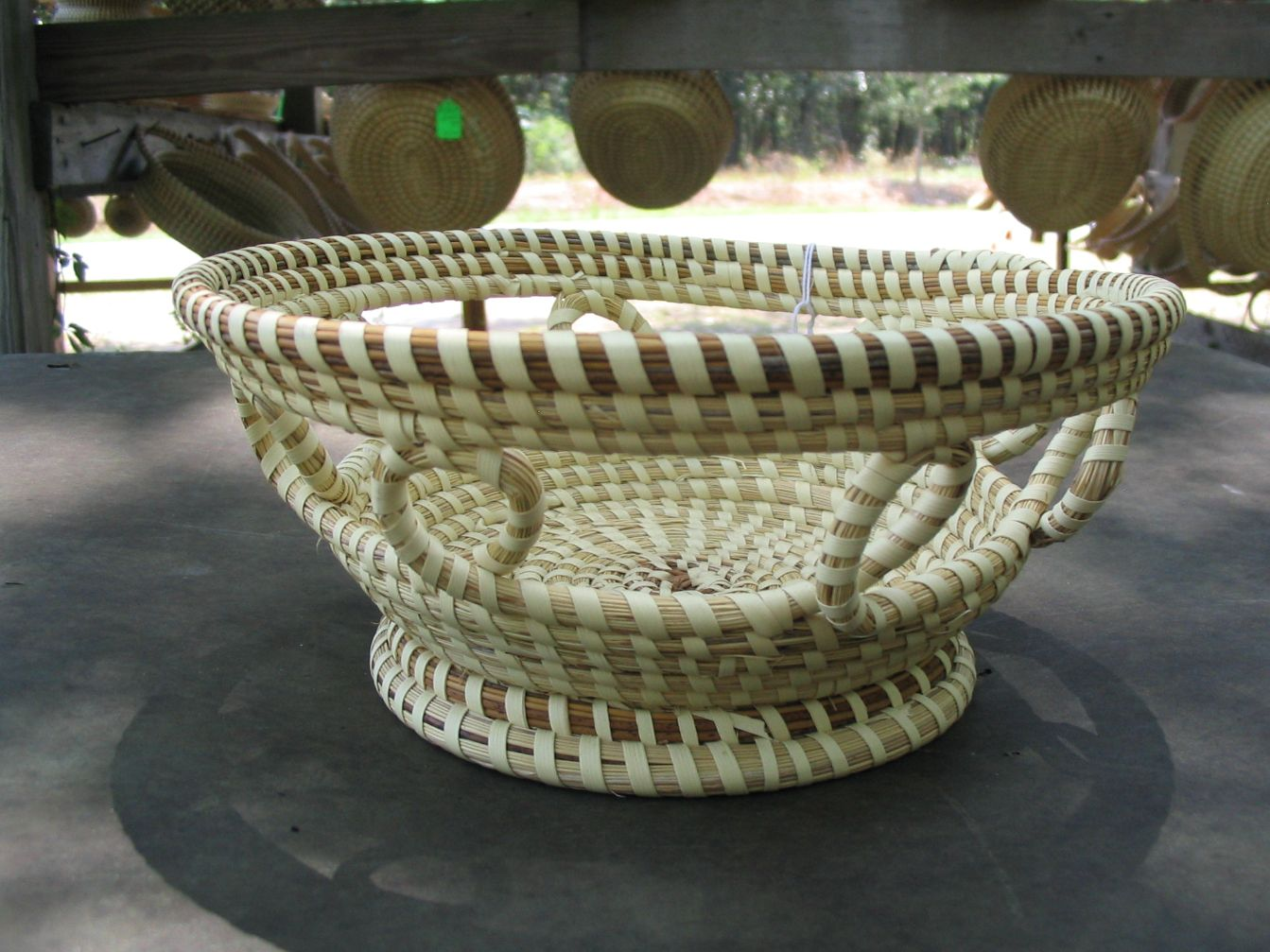 Designer Fruit Basket Sweetgrass Baskets Handwoven Baskets Bread Baskets