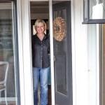 A Retractable Screen Door | Edith & Evelyn | www.edithandevelynvintage.com
