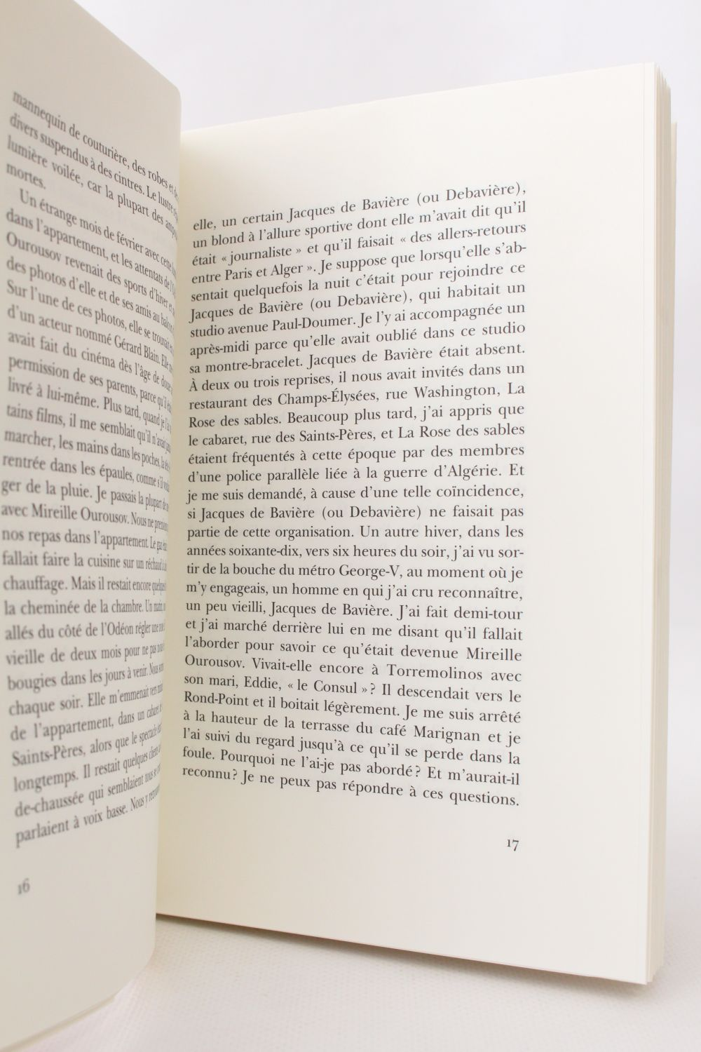 Cheminees Philippe Ger Modiano Souvenirs Dormants First Edition Edition Originale