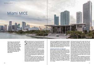 Skyline von Miami. Über das Fotografennetzwerk Blink kam der Kontakt zu Fotograf Manuel Mazzanti zustande.