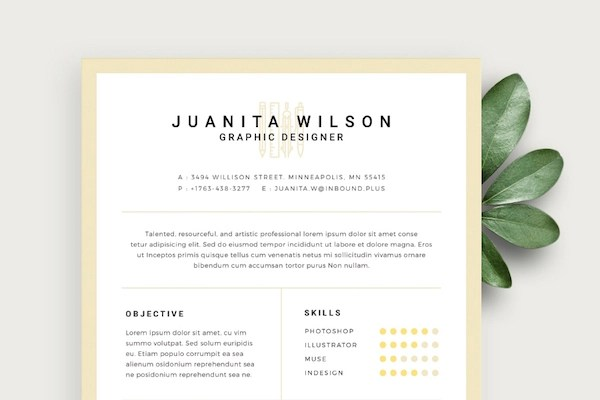 Free Eye-Catching Résumé Templates To Help You Stand Out From The - templates resume