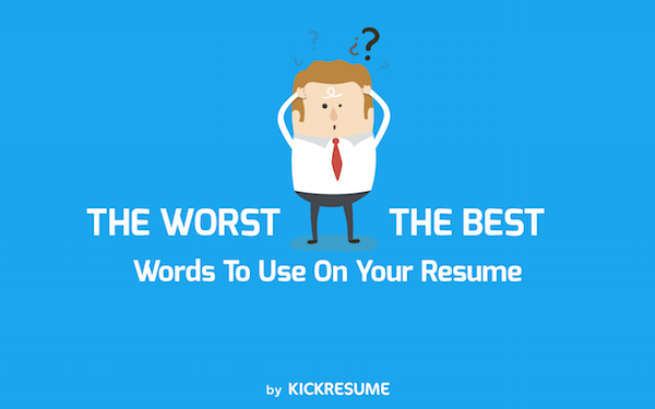 worst words to use in a resume