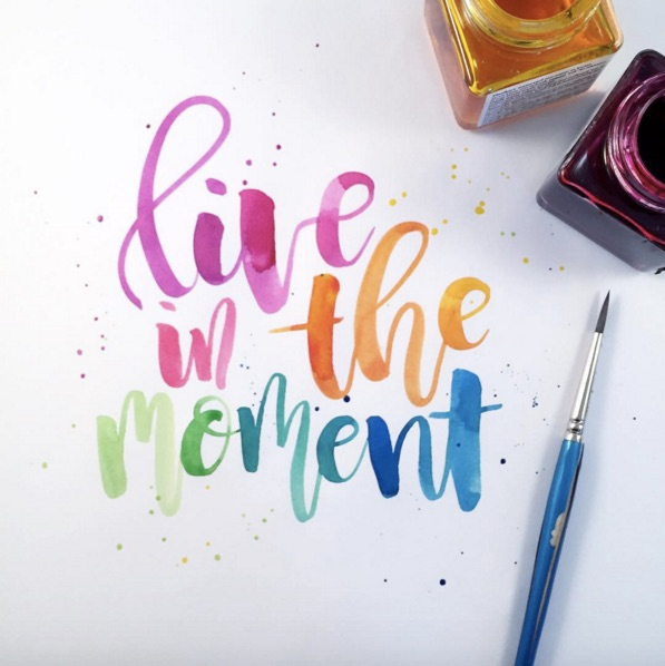 The Yellow Wallpaper Meaningful Quotes These Lovely Videos Of Colorful Calligraphy Being Written