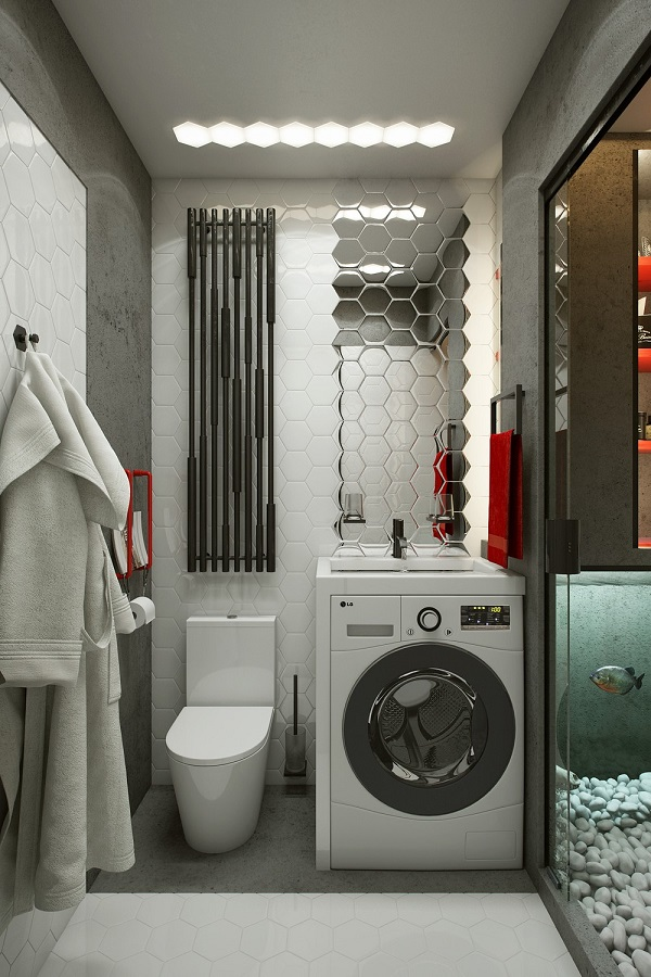 Micro Salle De Bain An 18-square-meter Microapartment That Is Surprisingly