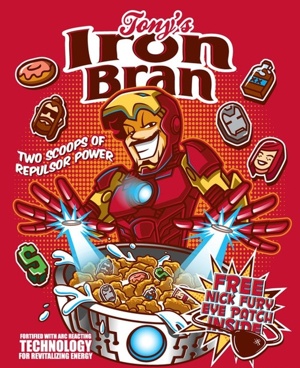 Anthony Bourdain Quotes Wallpaper If The Avengers Were Cereal Mascots Designtaxi Com