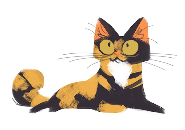 Cute Cartoon Sushi Wallpaper A Tumblr Blog That Features A Cute Cat Drawing Every Day