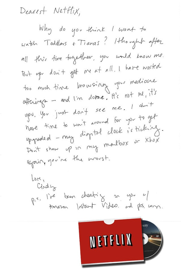 Hilarious \u0027Break-Up Letters\u0027 Designers Wrote To Products They Once