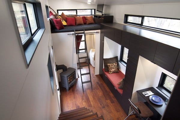 hOMe, A Tiny Mobile Home On Wheels - DesignTAXI - design your own mobile home