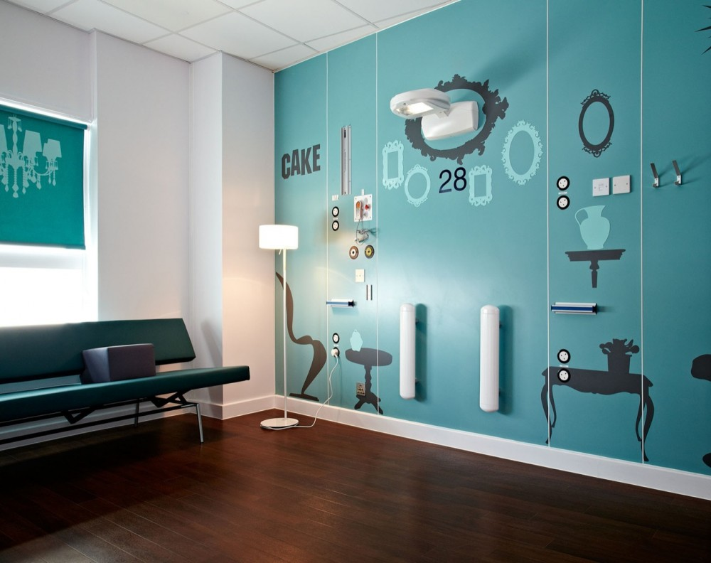 Best 3d Wallpapers For Living Room Boutique Hospital Wing For Teenage Cancer Patients
