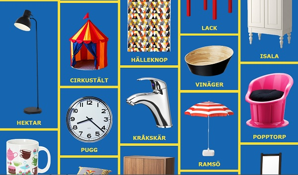 Ikea Furniture Names A Website That Teaches You How To Pronounce The Names Of
