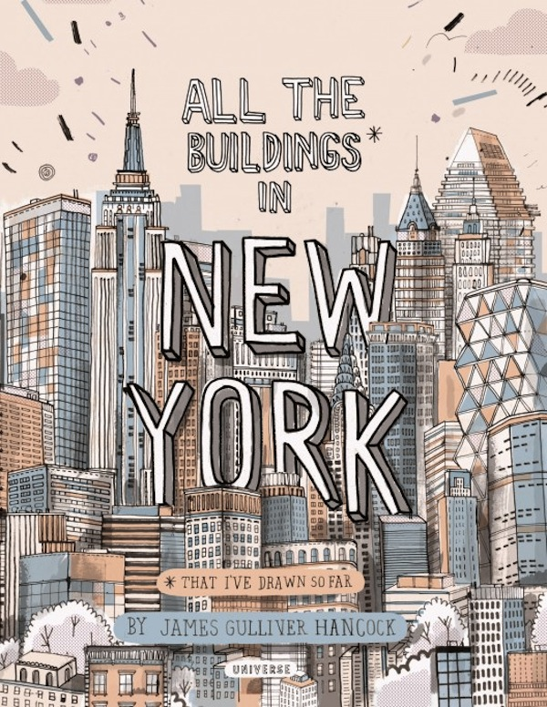 Artist Sketches Every Building In New York As A Personal Tribute To