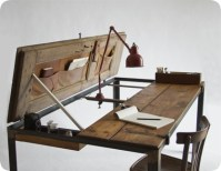 Multi-Functional Table Fashioned Out Of An Old Door ...