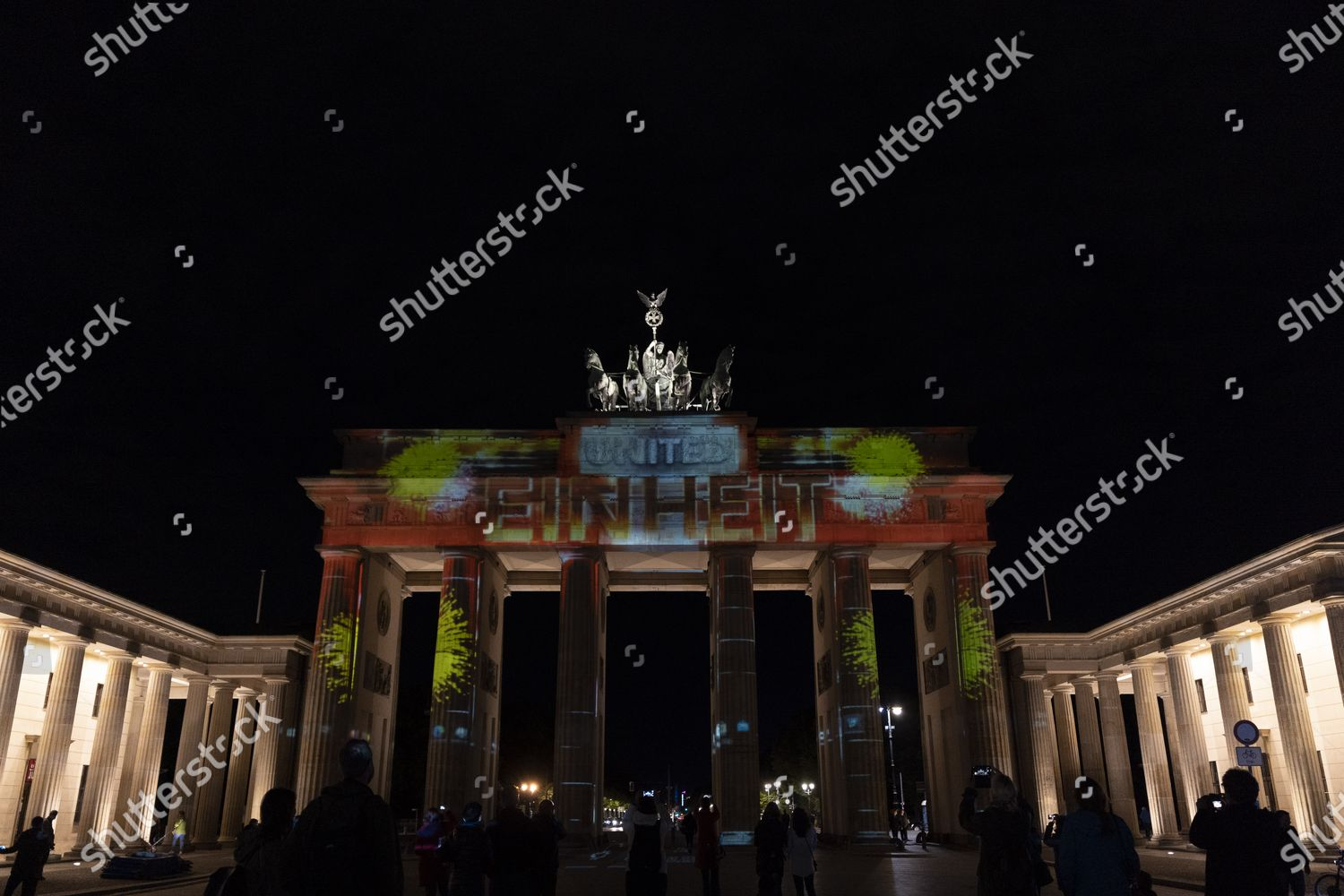 Berlin Leuchtet 2020 Festival Lights Celebrated This Editorial Stock Photo Stock Image Shutterstock