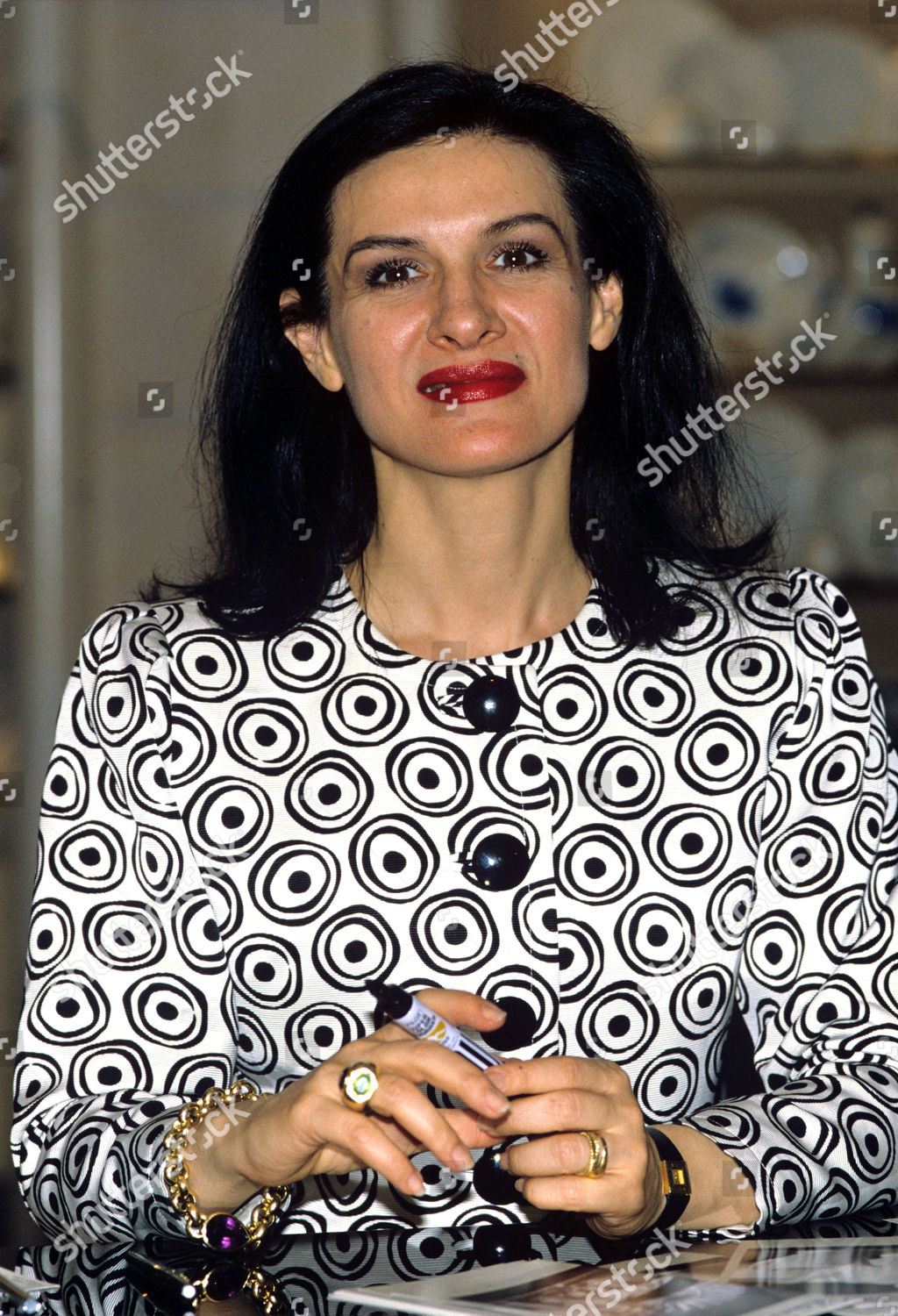 Paloma Picasso Paloma Picasso Editorial Stock Photo Stock Image Shutterstock