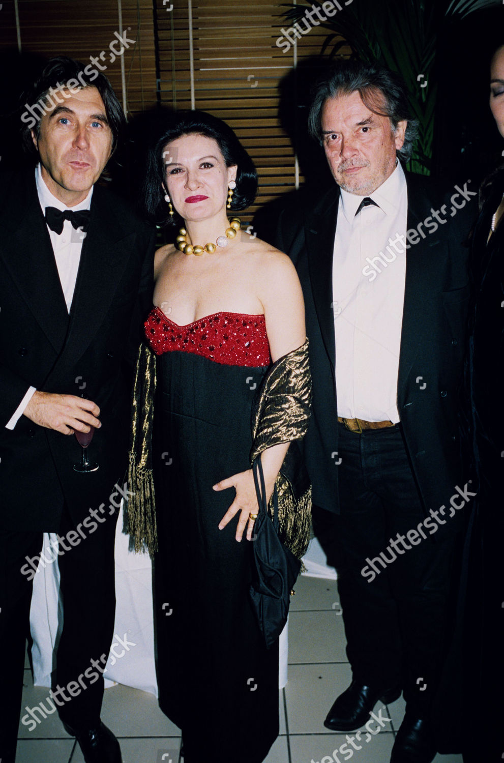 Paloma Picasso Bryan Ferry Paloma Picasso David Bailey Editorial Stock Photo