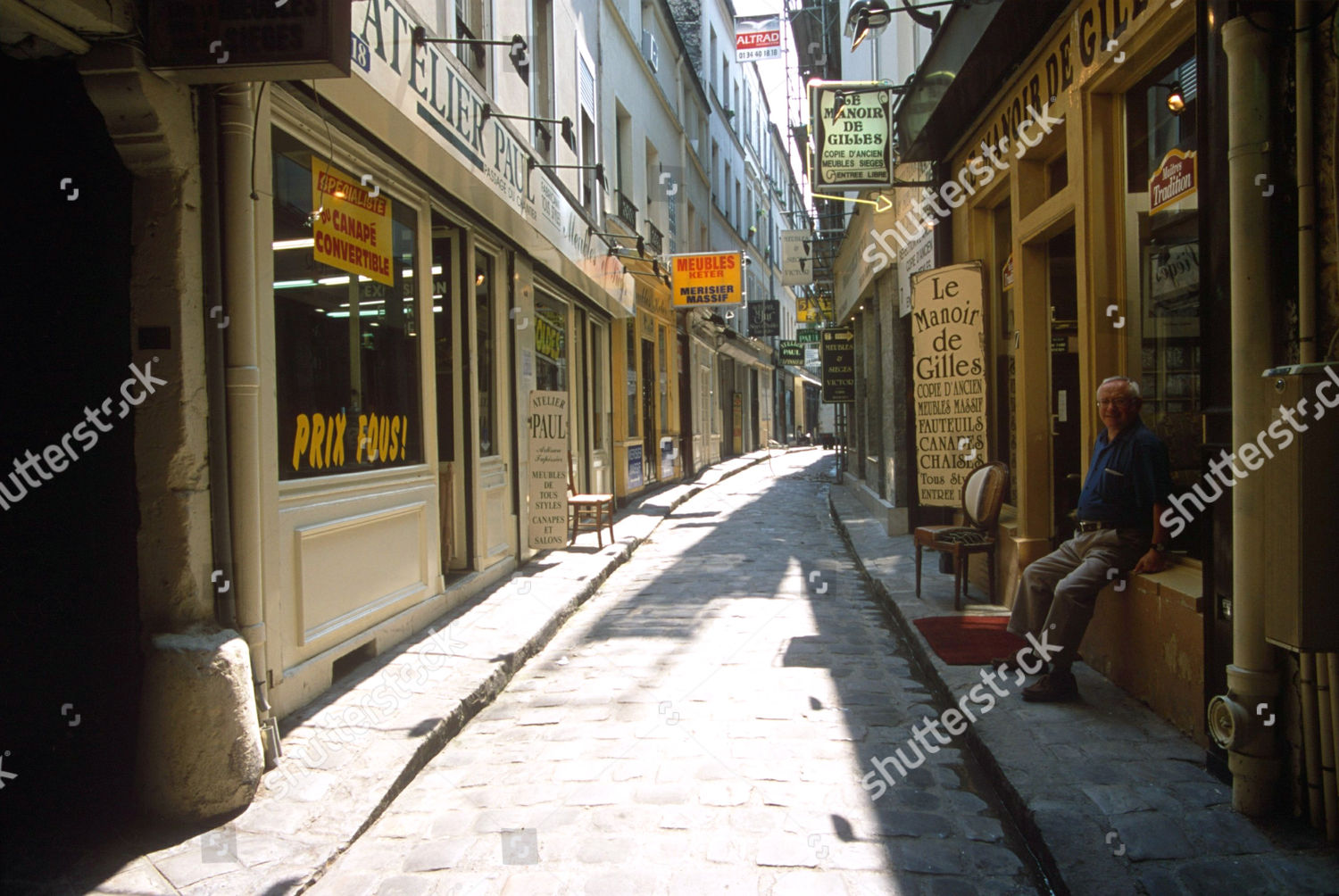 Meubles Basic Line France Editorial Stock Photo Of Street Paris France 458850aq Shutterstock