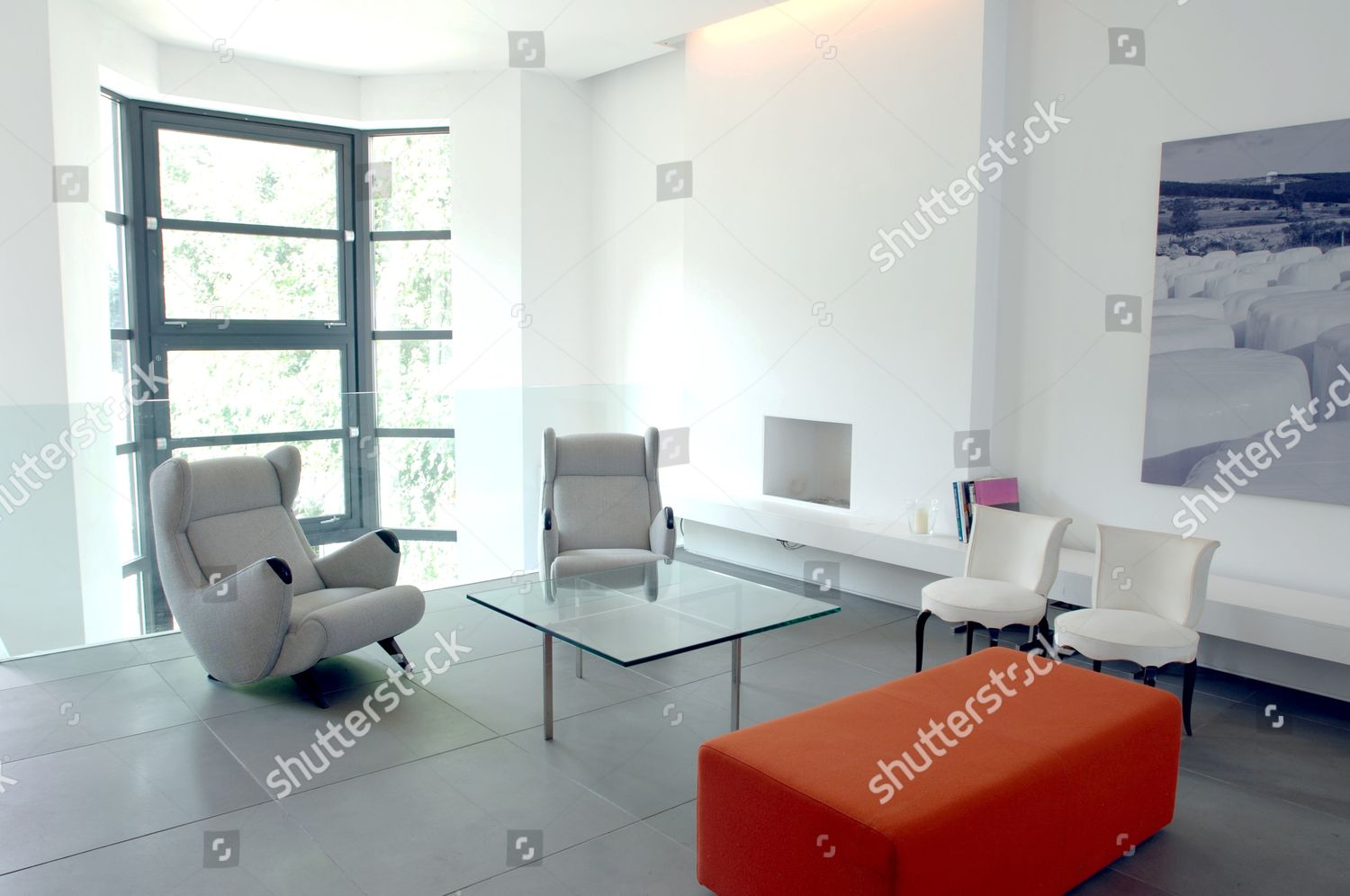 Minimalist Living Space Editorial Stock Photo Of Minimalist Doubleaspect Open Living Space