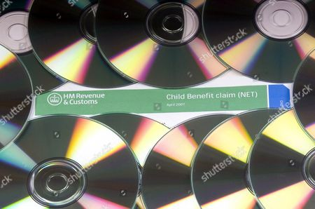 Mock HM Revenue Customs Child Benefit form Stock Photo (716346b