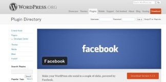Facebook plugin