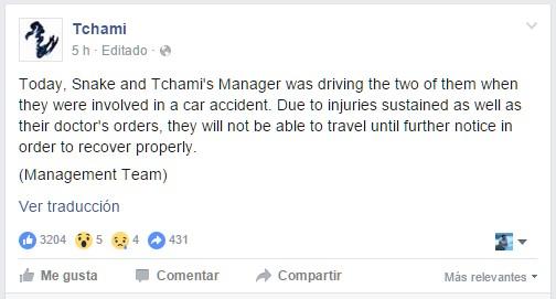 facebook-Tchami-accidente-EDMred Dj Snake y Tchami sufren un importante accidente de tráfico