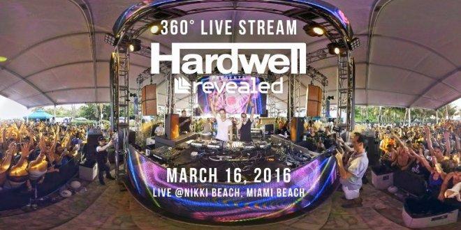 hardwell live realidad virtual EDMred