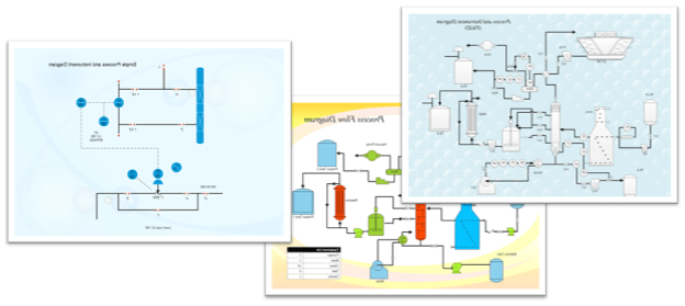 process flow diagram drawing images