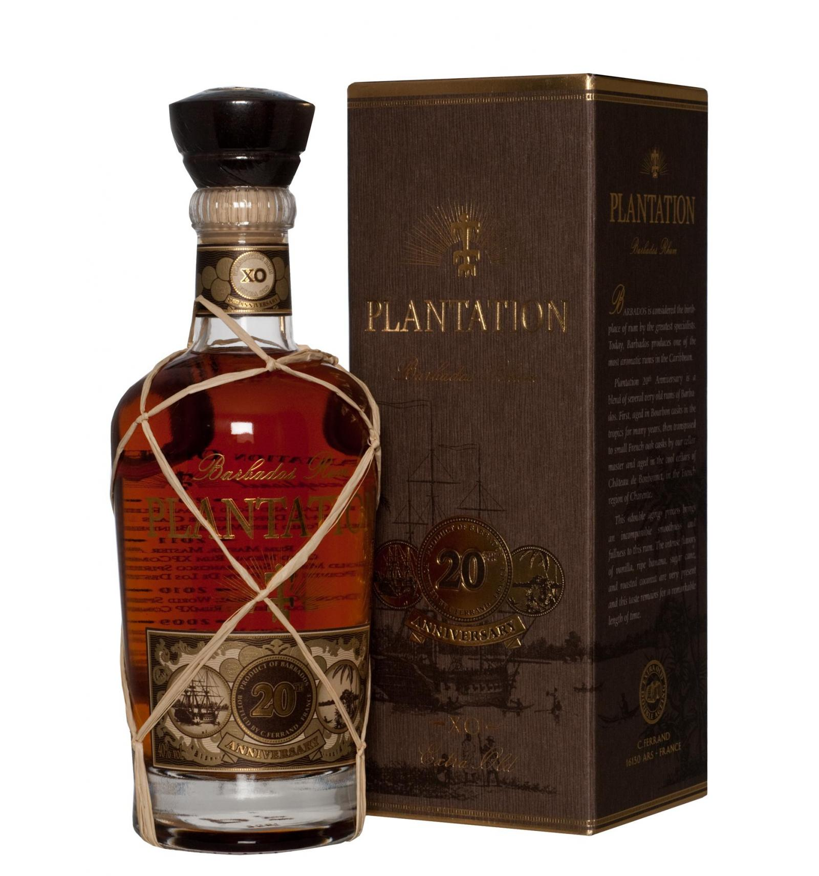 Plantation Barbados Extra Old 20th Anniversary Rum Plantation Rum Barbados Meancomfortable