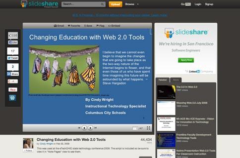 SlideShare Reviews edshelf