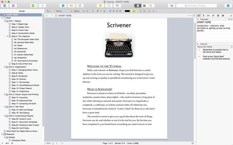 Scrivener Mac Vs Windows - namexsonar