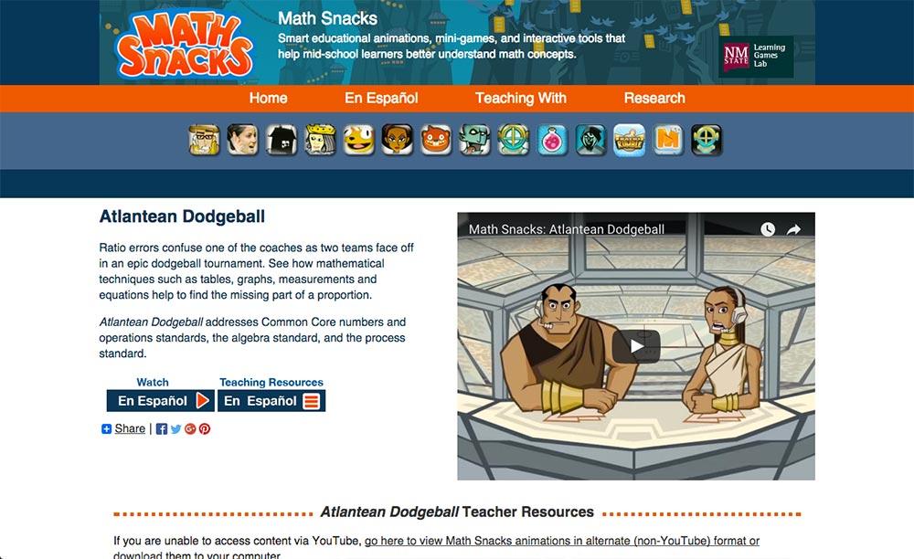 Math Snacks Reviews edshelf