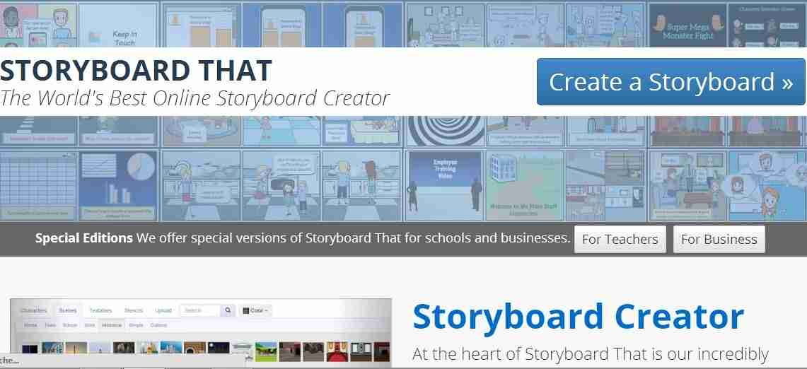 Storyboard That  Online Storyboard Creator - EdTechReview™ (ETR)