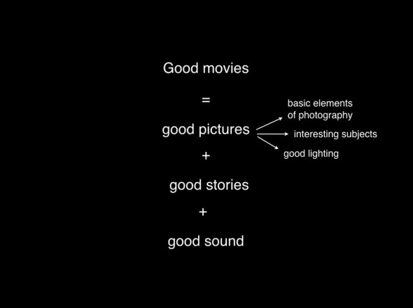 basic elements of a good movie