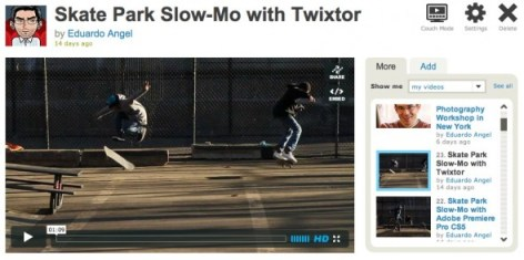 Slow Motion apps for cinematographers