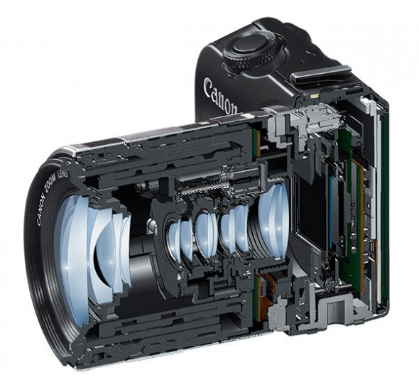 Canon EOS M Cross Section