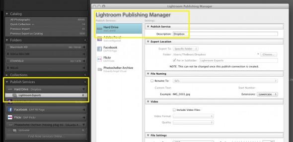 Lightroom Publishing Manager