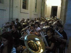 Ensemble de tubas AETYB