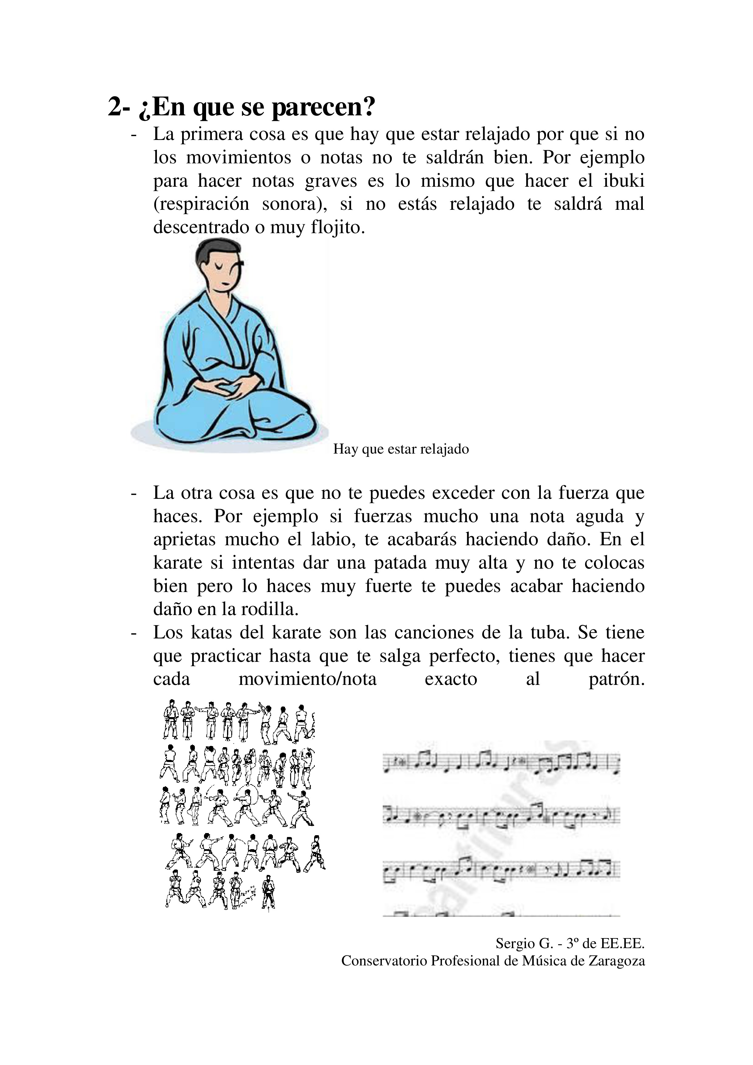 Tuba y Karate 2