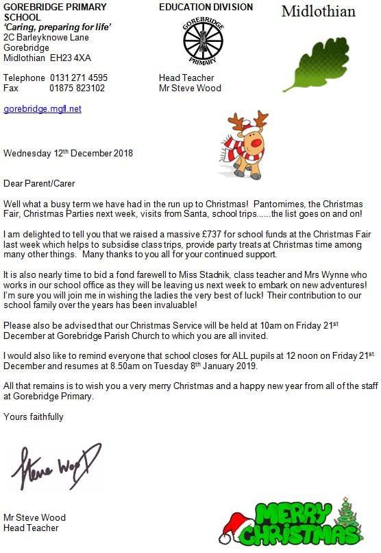 Latest News Gorebridge Primary School Page 3