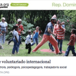 beca de voluntariado 2016