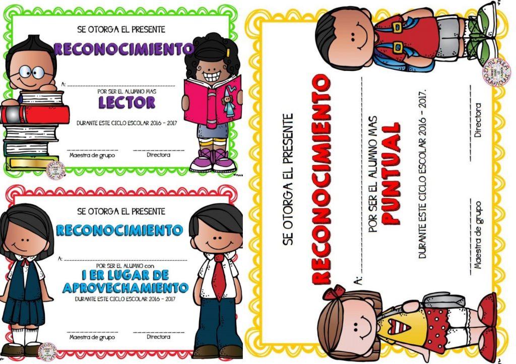 Fantásticos reconocimientos para premiar a nuestros alumnos de