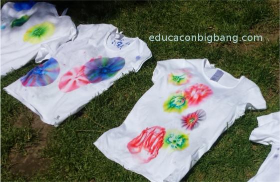 Camisetas terminadas