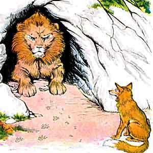 el-leon-enfermo