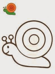 dibujosparacolorearcaracoles