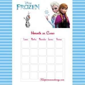 Horario-clase-Frozen