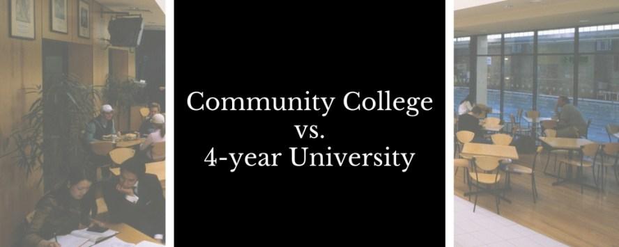community-college-vs-4-year-university
